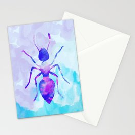 Abstract Ant Stationery Cards