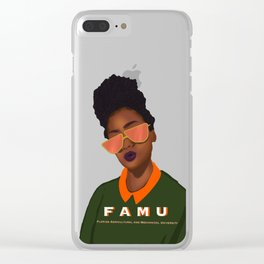 College Bound Clear iPhone Case