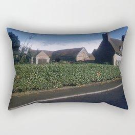 England Art Print * 1950's * Mary Arden * Shakespeare * Stratford upon Avon * Vintage Photo * Color Rectangular Pillow