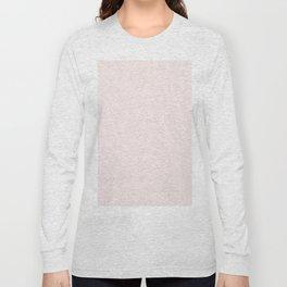 Elegant vintage blush pink french floral lace Long Sleeve T-shirt