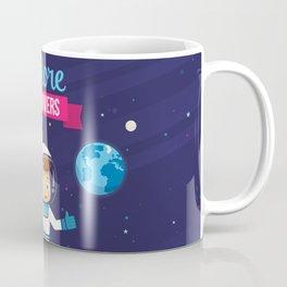 Explore the Univers Coffee Mug