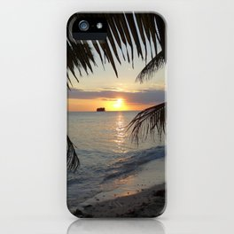 Caribbean Sunrise iPhone Case