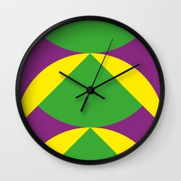 Of course those are Green Beans coming out from Yellow Shells. Happening in a Purple River. Wall Clock