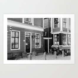 Home Style | Netherlands Architecture #6 | Street Photography Art Print