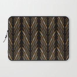 Wheat grass black Laptop Sleeve
