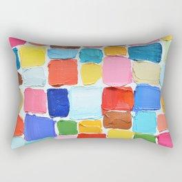 Mod Polka Daubs Rectangular Pillow