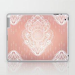Rose Gold Bohemian Mandala Fall Sunrise Laptop & iPad Skin