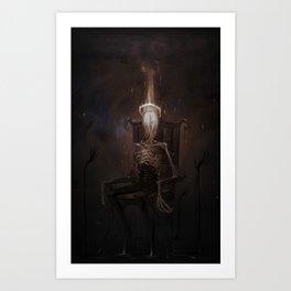 Portrait of a Demon Art Print
