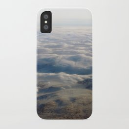 snowclouds. iPhone Case