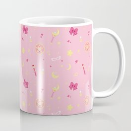 Sailor Moon Pattern Coffee Mug