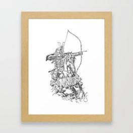 Samuri Framed Art Print