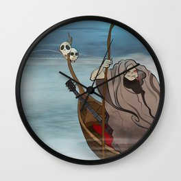 Charon Shreds Wall Clock