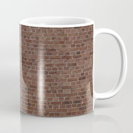 NYC Big Apple Manhattan City Brown Stone Brick Wall Coffee Mug