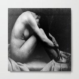 female nude by Marconi 1873 Metal Print