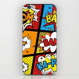 Kapow iPhone Skin