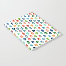 Lucha libre mask pattern Notebook
