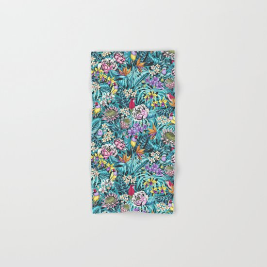 Stand out! (fresh aqua) Hand & Bath Towel