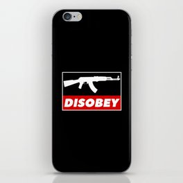 DISOBEY iPhone Skin