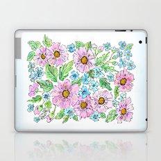 Colorful floral pattern . 1 Laptop & iPad Skin