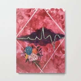 Cardiac Arrangement Metal Print