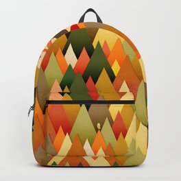 071 – deep into the autumn forest texture II Backpack
