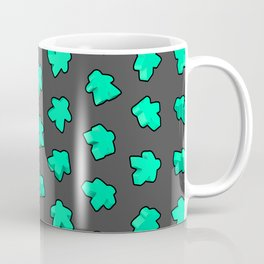 Mint Game Meeples Coffee Mug