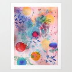 Cosmic Fantastic Art Print