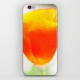 Macro Poppy iPhone Skin