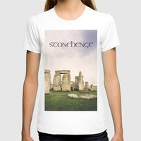 matty healy T-shirts featuring Stonehenge by Solar Designs