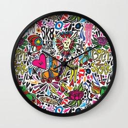 Derby Girl Wall Clock