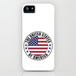 The United States of America - USA iPhone Case