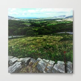 Corkscrew Hill Metal Print