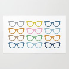 Glasses #3 Rug