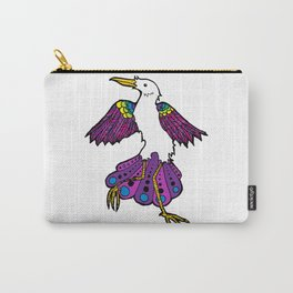 Colorful Bird Dance Carry-All Pouch