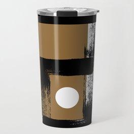 Carbon Dioxide - Minimalist Graphic Travel Mug