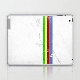 Jersey minimalist cycling Laptop & iPad Skin