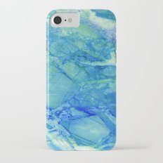 Sea blue marble iPhone 7 Slim Case