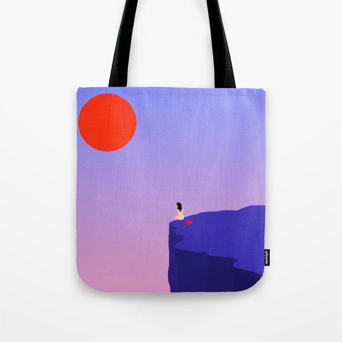 Cliff//Rose Tote Bag