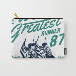 WORLD GREATEST RUNNER Carry-All Pouch