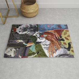 Prince and Princess Fox Rug