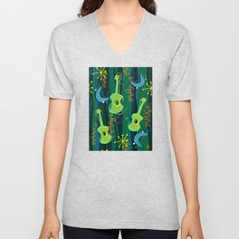 Music Was In The Air Unisex V-Neck