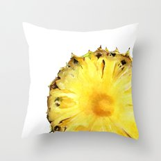 Pineapple Slice Throw Pillow