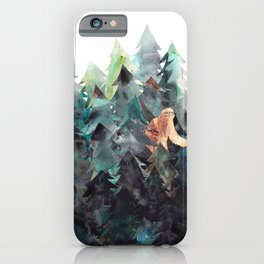 Bigfoot Forest iPhone Case