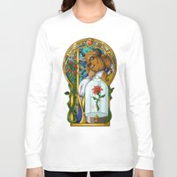 beast Long Sleeve T-shirts featuring Beast by Two Tiger Moon Studio