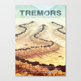 Tremors Canvas Print