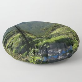 Beautiful Bow Valley Floor Pillow