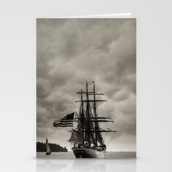 Parade of Sail Stationery Cards
