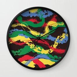 Plastic Dawn Wall Clock