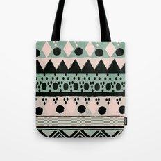 PASTEL NORDIC TRIBAL  Tote Bag