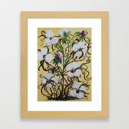 King Cotton Framed Art Print